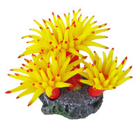 Orbit Smiling Coral, Aquariumdeko, gelb