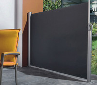 Perel Seitenmarkise ausziehbar, ca. 160 x 300 cm