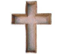 Pflanzkreuz für Grabgestecke