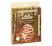 Pilzmännchen Bio Pilzzuchtset Shiitake-Myzelpatch