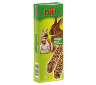 Pitti Nagersnack Bricks, 2er