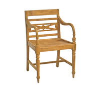 Ploß Stuhl Cambridge, mit Armlehnen