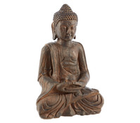 Polyresin Buddha sitzend, 38 cm