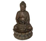Polyresin-Gartenbrunnen Buddha, Ø 50 x 84 cm