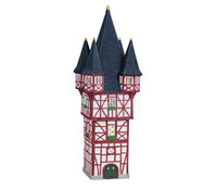 Porzellan Haus Bromser- Turm in Rüdesheim/ Rhein