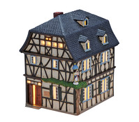 Porzellan Schutzengelhaus in Unkel, 19 x 13 x 15 cm