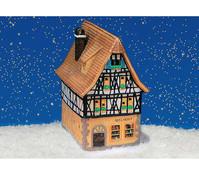 Porzellan-Windlicht Geschenkeladen Rothenburg/Tauber, 10 x 13 x 19 cm