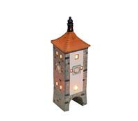 Porzellan Windlicht Sieberts-Turm Rothenburg/Tauber, 8 x 8 x 32 cm