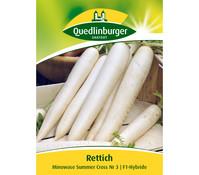 Quedlinburger Samen Rettich 'Minowase Summer Cross'