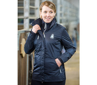 Reit- & Outdoorjacke Navy für Damen