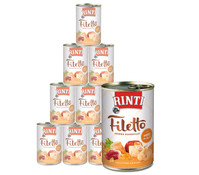 Rinti Filetto in Jelly, Nassfutter, 12 x 420g