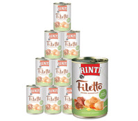 Rinti Filetto in Sauce, Nassfutter, 12 x 420g