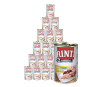 Rinti Kennerfleisch Junior Huhn, Nassfutter, 24 x 400g