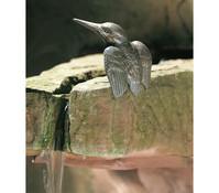 Rottenecker Bronzefigur Eisvogel