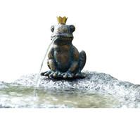 Rottenecker Granit-Gartenbrunnen Froschkönig Otto, Ø 55 x 60 cm