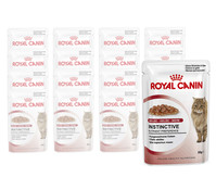Royal Canin Instinctive Gelee, Nassfutter, 12x85g