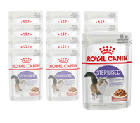 Royal Canin Sterilised, Nassfutter, 12 x 85g