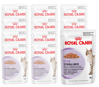 Royal Canin Sterilised, Nassfutter, 12x85g