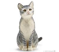 Schleich Katze, sitzend