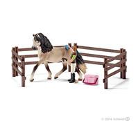 Schleich Pferdepflegeset, Andalusier