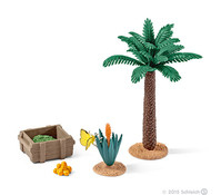 Schleich Pflanzen und Futter Set