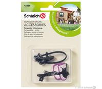 Schleich Ponysattel + Zaumzeug