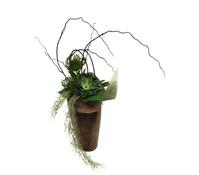 Seidenblumen-Arrangement Protea