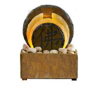 Seliger Zimmerbrunnen Tian, Schiefer