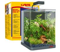 Sera Biotop Nano LED Cube 16, Mini Aquarium-Set