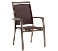 Sieger Royal Stapelsessel, 71 x 60 x 97 cm, marone/mocca
