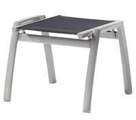 Sieger Trento Hocker, Aluminium/Textilux, 55x58x43 cm