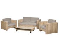 Siena Garden Lounge-Set Halmstad, 4-teilig