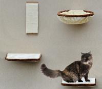 Silvio Design Kletterwand für Katzen, 4-teilig