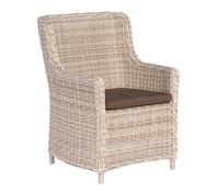 Sonnenpartner Sessel Medelin, antikweiß