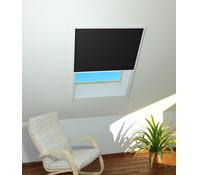 Sonnenschutz-Dachfenster-Plissee, 110x160 cm