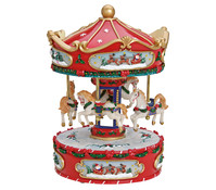 Spieluhr Karussell Jingle Bells, ca. 25 cm hoch