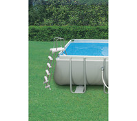 Steinbach Frame Pool Set Ultra Quadra, 549x274x132 cm
