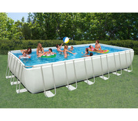 Steinbach Frame Pool Set Ultra Quadra, 732x366x132 cm