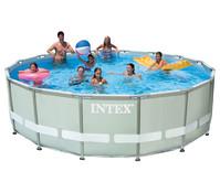 Steinbach Frame Pool Set Ultra Rondo, Ø 488x122 cm