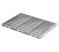 Sunday Glutrost Stahlplatte, 40 x 18,5 x 3 cm