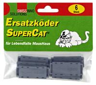Swissinno Ersatzköder für Lebendfalle MausHaus, 6 Stück Packungsinhalt