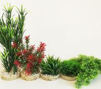 Sydeco Kit Kombi 1, Kunstpflanzen, 5 Stück