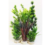 Sydeco Kit Kombi 5, Kunstpflanzen, 5 Stück
