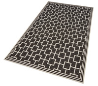 Teppich Bay schwarz, ca. 230 x 160 cm