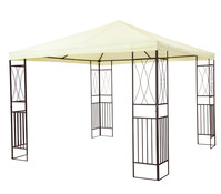 tepro Gartenpavillon Kaemi, ca. 295 x 295 x 280 cm