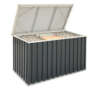tepro Metall- Gerätebox, ca. 134 x 73 x 73 cm