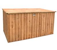tepro Metall Gerätebox, Eiche Dekor, ca. 195 x 95 x 95 cm