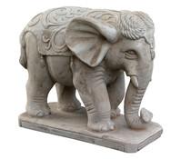 Terrakotta-Elefant, 37 x 43 x 26 cm