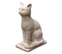 Terrakotta-Katze, 48 x 32 x 22 cm