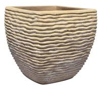 Terrakotta-Topf, sand